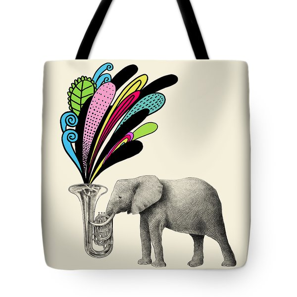 Color Burst Tote Bag by Eric Fan