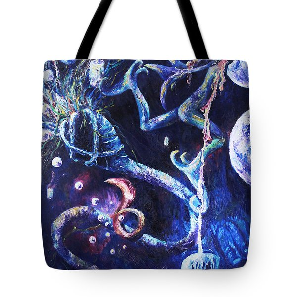 Color Creation Myth Tote Bag by Shelley  Irish