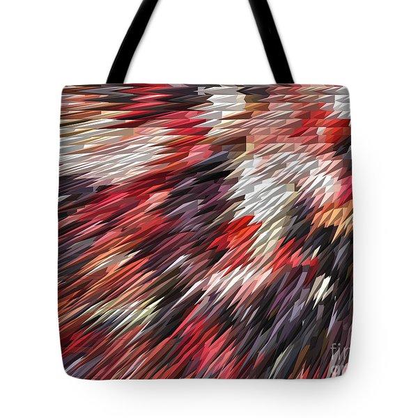 Color Explosion #02 Tote Bag by Ausra Paulauskaite