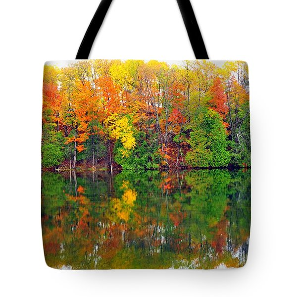 Color Kaleidoscope Tote Bag by Terri Gostola