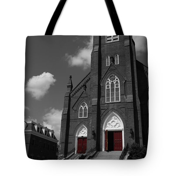Color My Faith Tote Bag by Karol  Livote