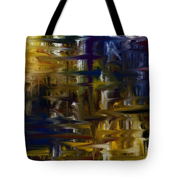 Color my World Tote Bag by Judi Walters