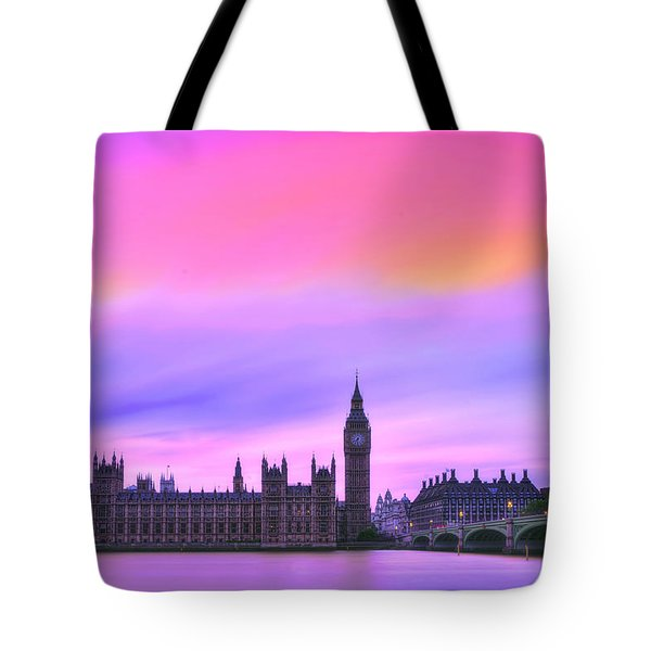 Color My World Tote Bag by Midori Chan
