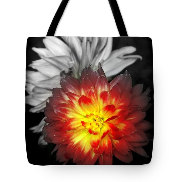 COLOR of LIFE Tote Bag by KAREN WILES