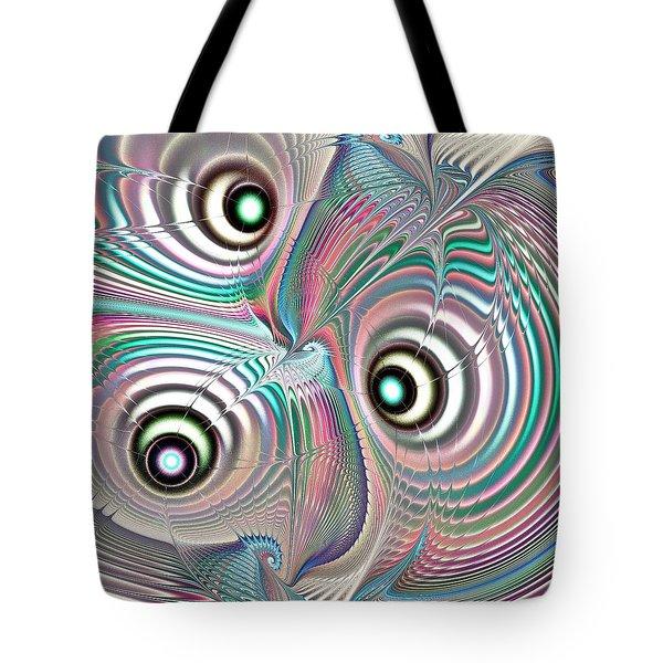 Color Waves Tote Bag by Anastasiya Malakhova