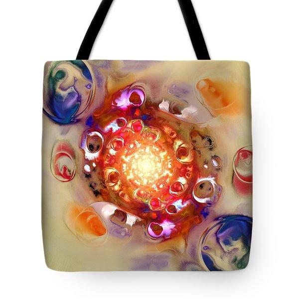 Color Wheel Tote Bag by Anastasiya Malakhova