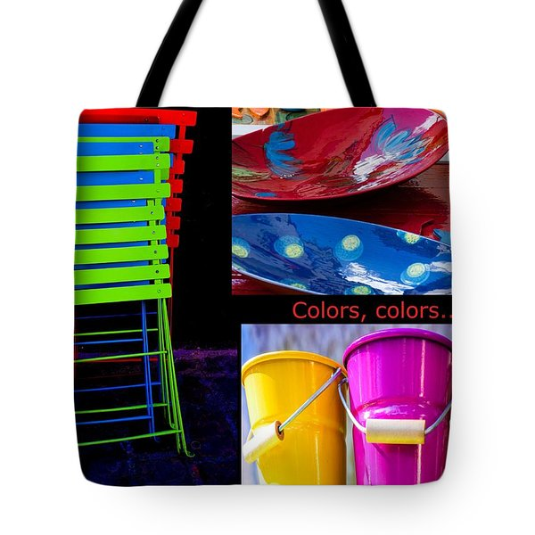 Color Your Life 1 Tote Bag by Dany  Lison