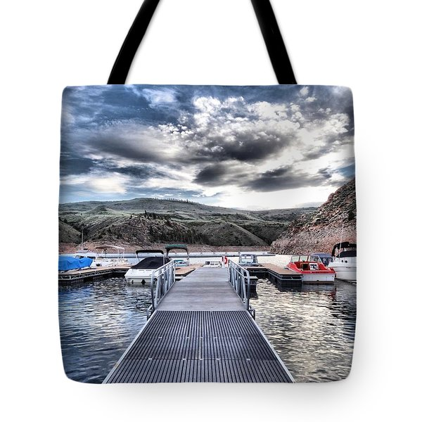 Colorado Boating Tote Bag by Dan Sproul