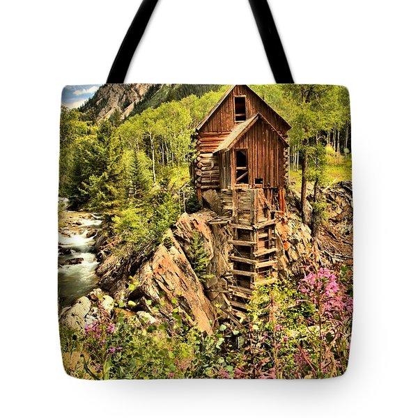 Colorado Icon Tote Bag by Adam Jewell
