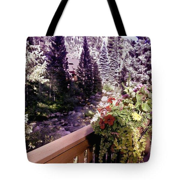 Colorado Landscape Tote Bag by Madeline Ellis