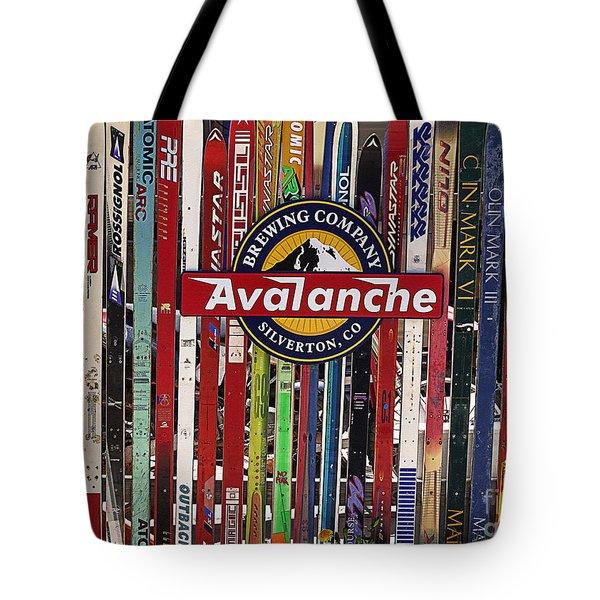 Colorado Logos Tote Bag by Janice Rae Pariza