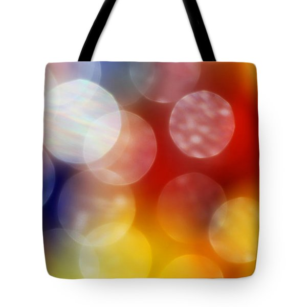 Colorful Abstract 4 Tote Bag by Mary Bedy