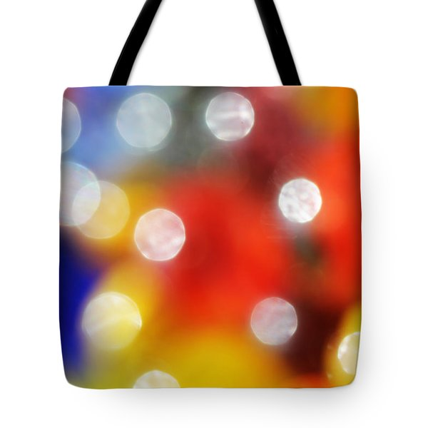 Colorful Abstract 8 Tote Bag by Mary Bedy