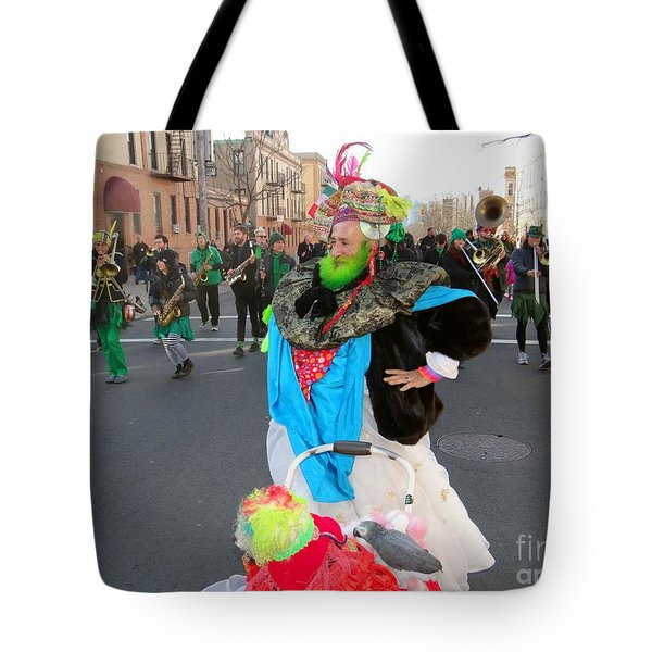 Colorful Character Tote Bag by Ed Weidman