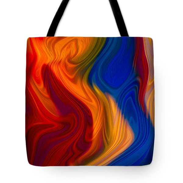 Colorful Compromises II Tote Bag by Omaste Witkowski