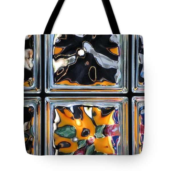 Colorful Contortion Tote Bag by Frozen in Time Fine Art Photography