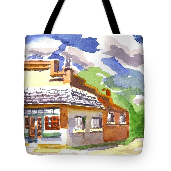 Colorful May Morning Tote Bag by Kip DeVore