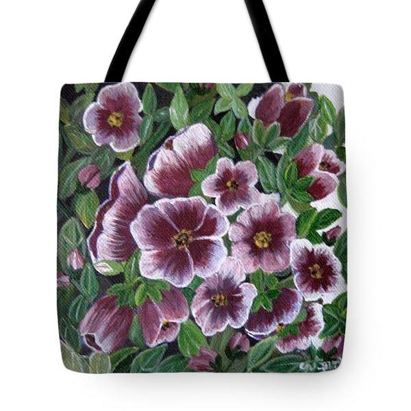 Colorful Nature Tote Bag by Usha Rai