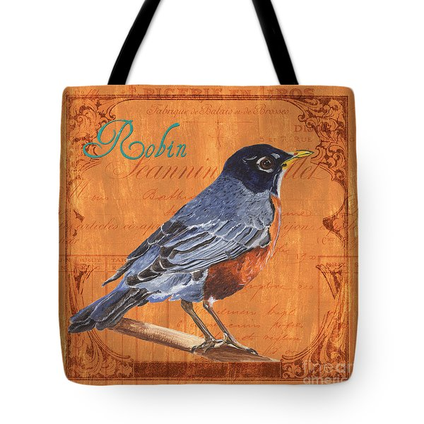 Colorful Songbirds 2 Tote Bag by Debbie DeWitt