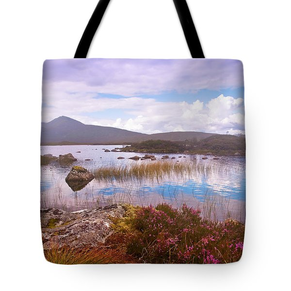 Colorful World Of Rannoch Moor. Scotland Tote Bag by Jenny Rainbow