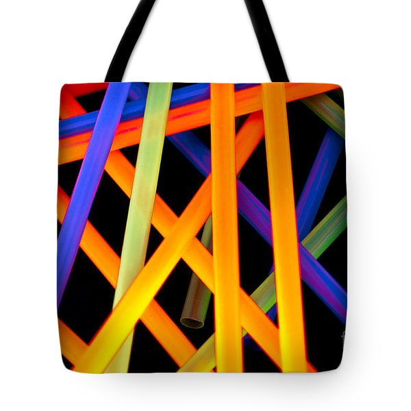 Coloring Between The Lines Tote Bag by Charles Dobbs