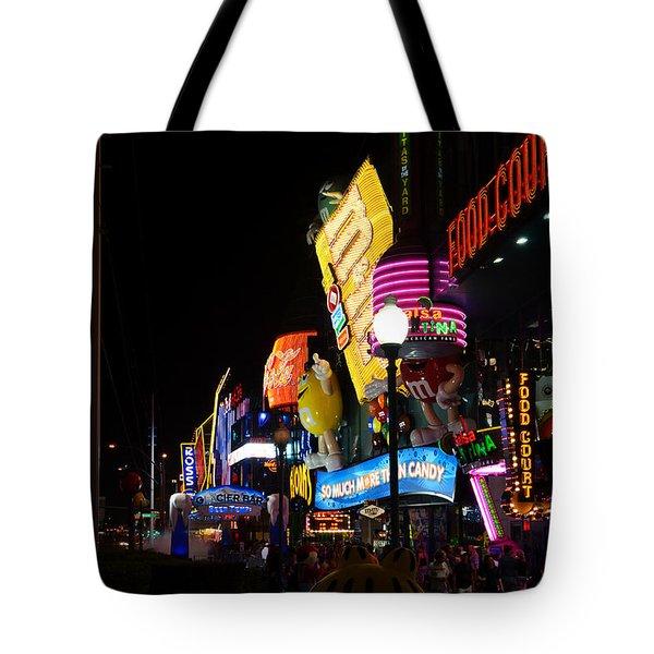 Colors of Las Vegas Tote Bag by RicardMN Photography
