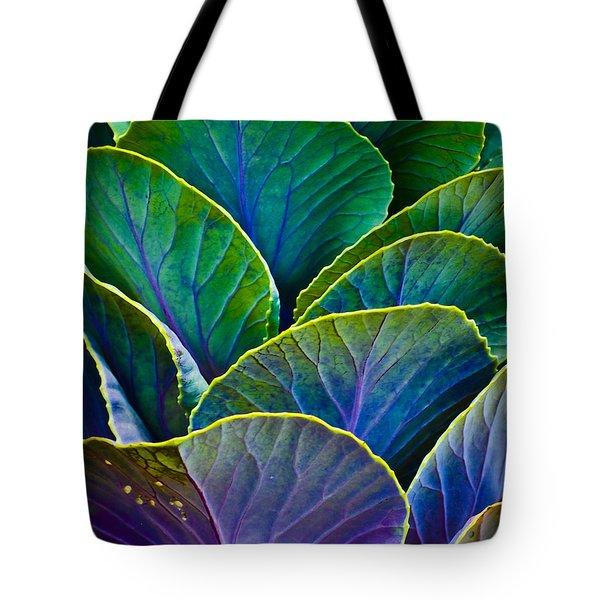 Colors of the Cabbage Patch Tote Bag by Christi Kraft