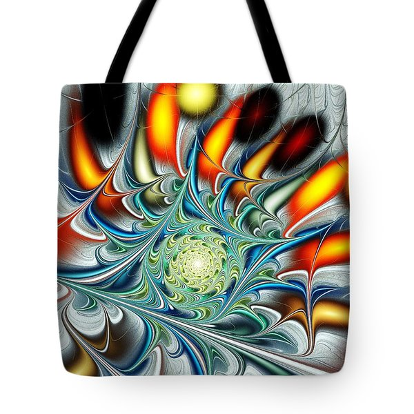 Colors of the Spirit Tote Bag by Anastasiya Malakhova