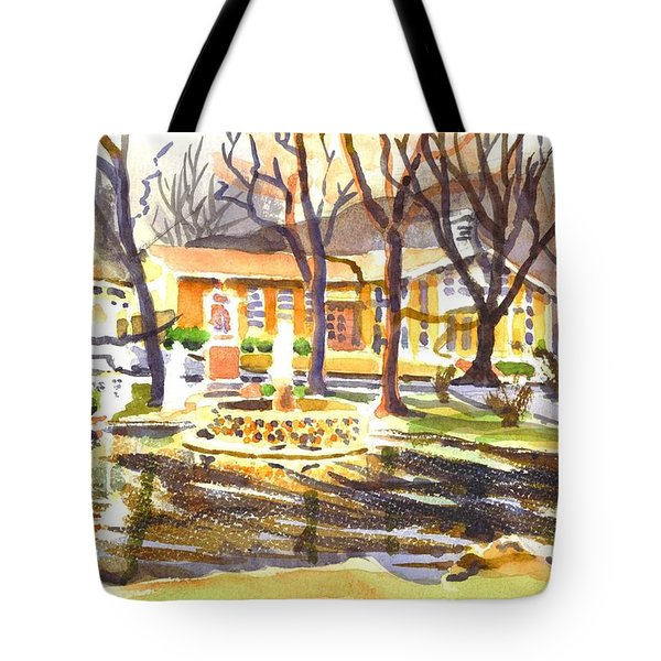 Colors On A Cloudy Day Tote Bag by Kip DeVore
