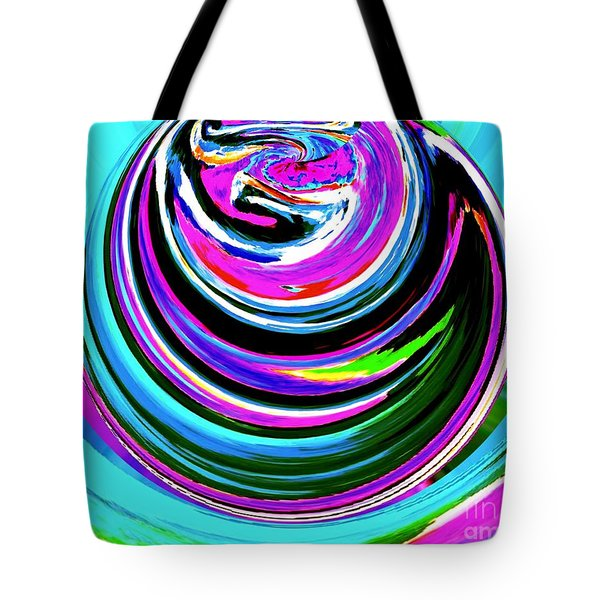 Colors On Canvas II Tote Bag by Annie Zeno