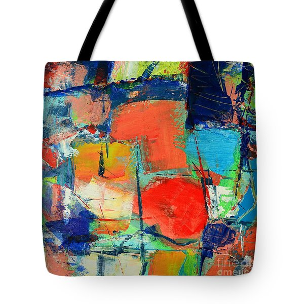COLORSCAPE Tote Bag by ANA MARIA EDULESCU