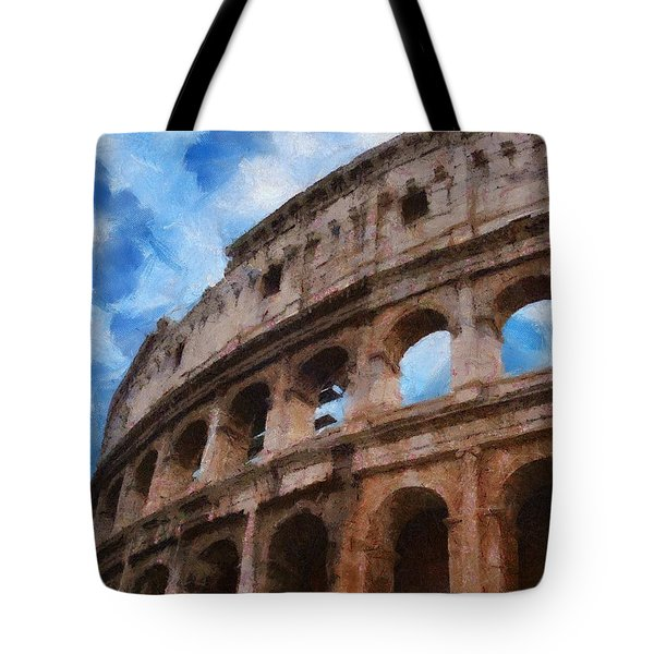 Colosseo Tote Bag by Jeff Kolker