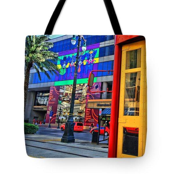 Colours De Nola Tote Bag by Robert McCubbin