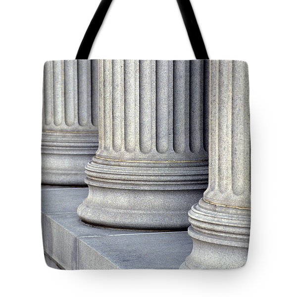 Columns Tote Bag by Jon Neidert