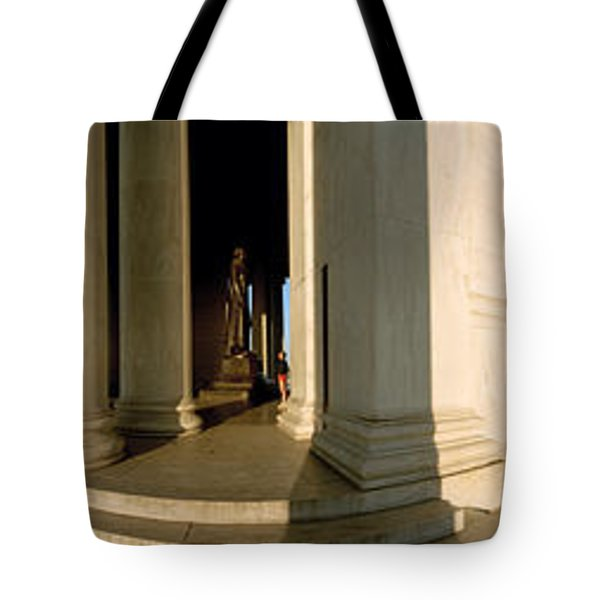 Columns Of A Memorial, Jefferson Tote Bag by Panoramic Images