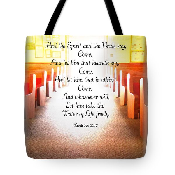 Come Tote Bag by Debbie Portwood