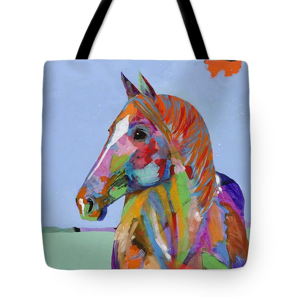 Come On Over Tote Bag by Tracy Miller