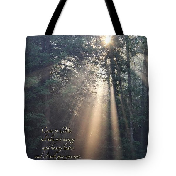 Come To Me Tote Bag by Lori Deiter