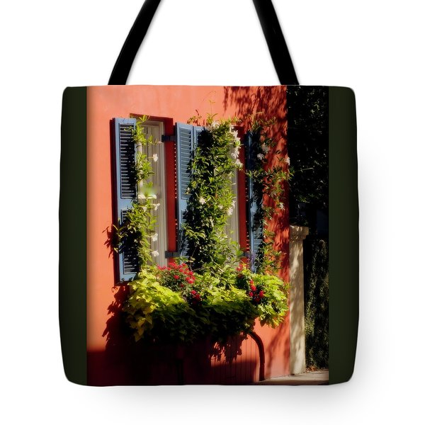 Come To My Window Tote Bag by Karen Wiles
