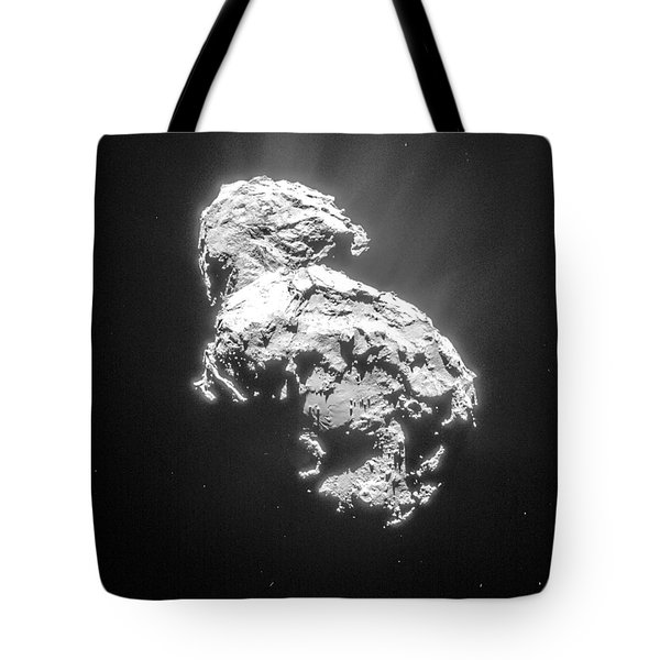 Tote Bag featuring the photograph Comet 67pchuryumov-gerasimenko by Science Source