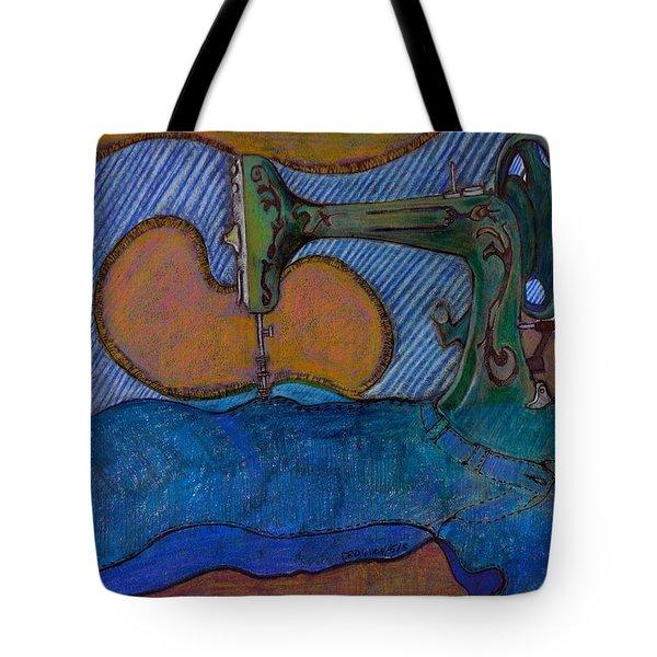 Coming Apart At The Seams Tote Bag by Dallas Roquemore