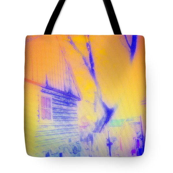 Coming Home Tote Bag by Hilde Widerberg