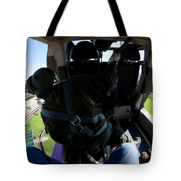 Coming In To Land Tote Bag by Paul Job