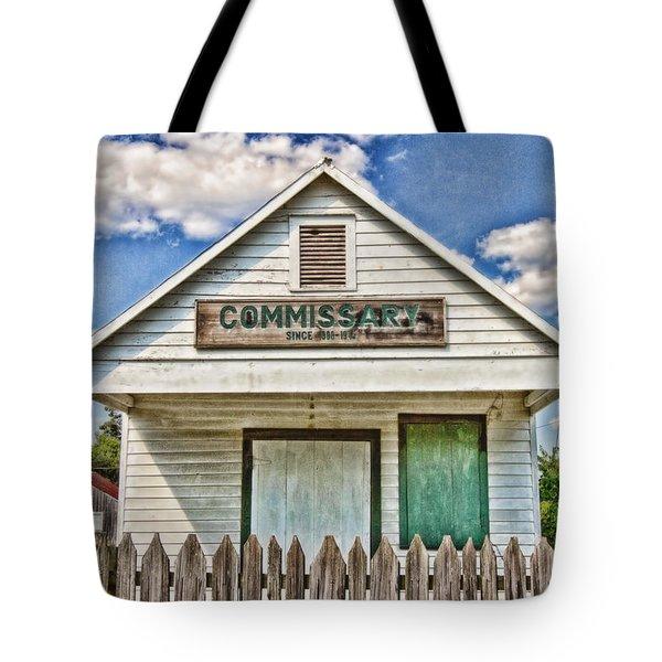 Commissary Tote Bag by Scott Pellegrin