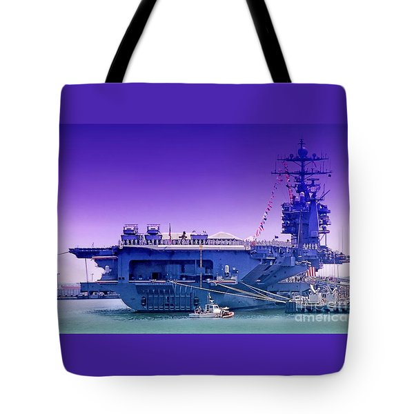 Commissioned Tote Bag by DJ Florek