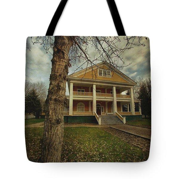 Commissioner's Residence Tote Bag by Priska Wettstein
