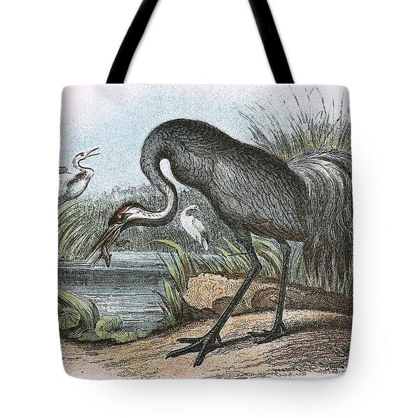 Common Crane Tote Bag by English School