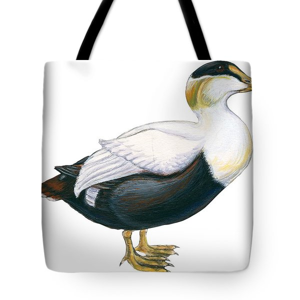 Common Eider Tote Bag by Anonymous