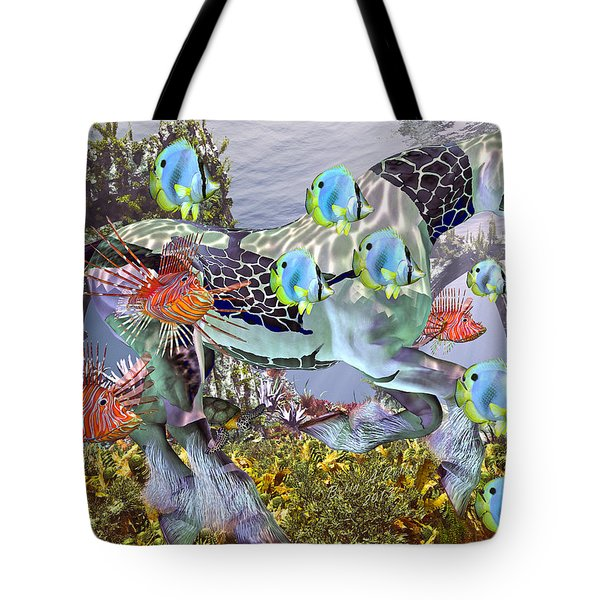 Common Ground Tote Bag by Betsy C Knapp