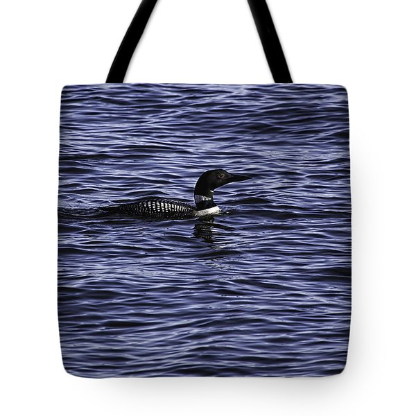 Common Loon 1  Tote Bag by Thomas Young